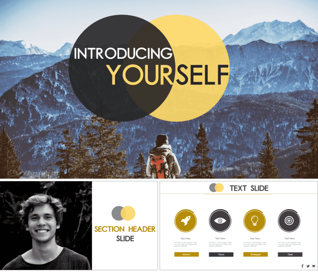 30 mod les powerpoint gratuits premium que vous allez adorer for Template for introducing yourself