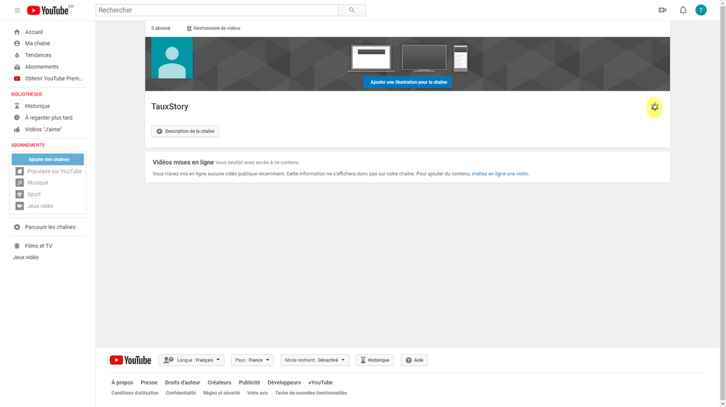 configurer chaine youtube-1