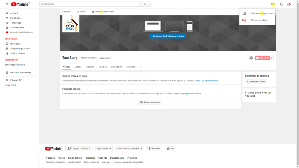 configurer chaine youtube-111