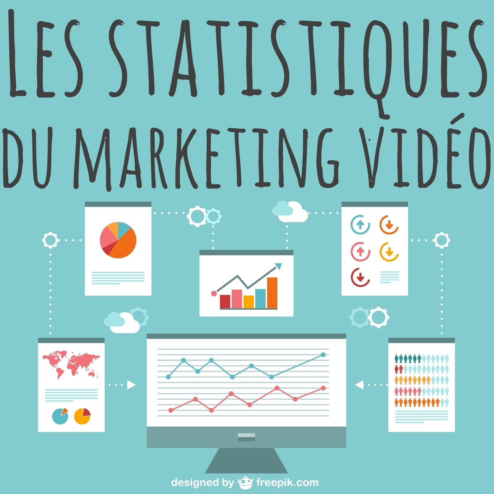 statistiques marketing video